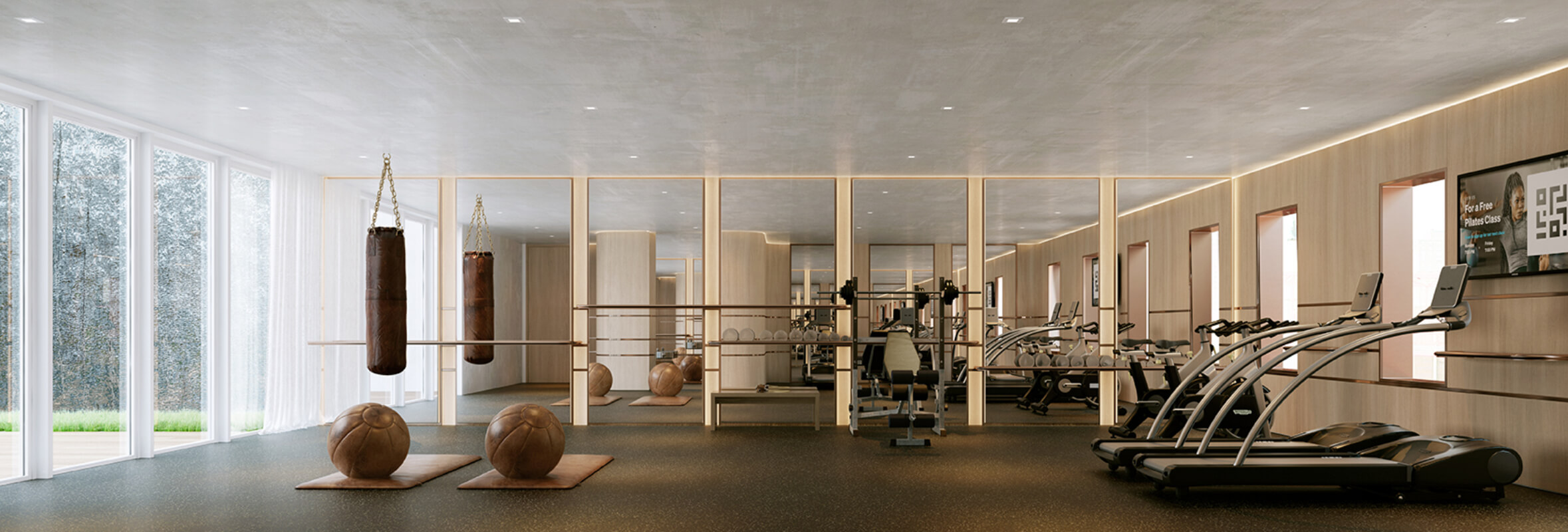 private gym at 208 delancey street lower east side